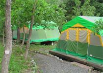 キャンプ場一覧-常設テント